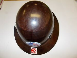 Msa Skullgard Full Brim Hard Hat With Fas trac Suspension Very Clean Ironworker