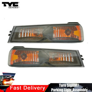 Tyc Turn Signal Parking Light Lamp Assy Front 2pcs For Colorado Base 2004 2012