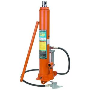 8 Ton Long Ram Air Hydraulic Jack High Lift Auto Shop Crane Steel Engine Hoist