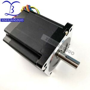 Nema34 Stepper Motor 98mm6 8n m 5a 1000oz in High Torque For Cncrouter Engraving