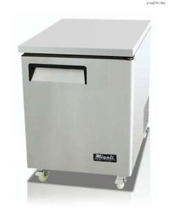 Toolots 27 Under counter Work Top Refrigerator 6 5 Cu ft 115v 60hz
