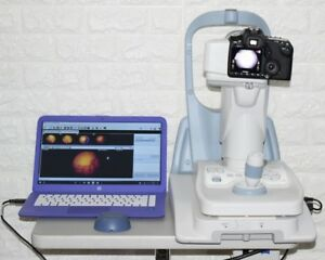 Canon Cr 2 Retinal Non mydriatic Fundus Camera With Laptop And Software