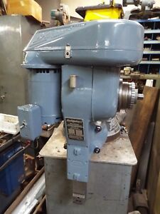 Bridgeport Shaping Head Model E Shown Running Currently Wired 3 Ph 220