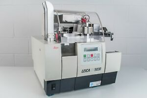 Leica Cv5030 Fully Automated Glass Coverslipper With Ts5015 Transfer Station