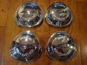 18580 Jaguar Xke Series 2 3 Federal Chrome Wire Wheel Knock offs