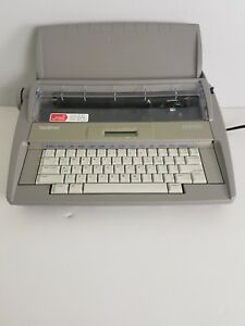 Brother Sx 4000 Electric Electronic Typewriter tested Cleaned