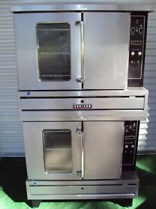 Garland Double Eco20 Electric Commercial Ovens Bakery Pizza Blodgett