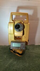 Topcon Gts 236w Total Station Transit With Case Charger And Battery