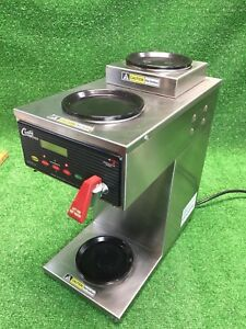 Curtis Commercial Alp3gt12a000 12 Cup Coffee Brewer With 3 Warmers 120v 1800w