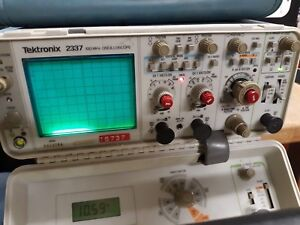 Tektronix 2337 Oscilloscope With Power Cord Power Tested Only