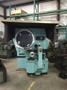 Jones Lamson 30 Optical Comparator Epic 230 With Dro J l Calibrated 2 4 16