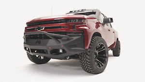 Fab Fours Cs19 D4052 1 In Stock Vengeance Bumper 2019 Chevy Silverado 1500