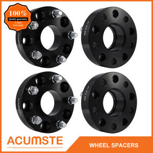 4pcs For Jeep Jk Rubicon Wrangler Wheel Spacers Hubcentric 1 5 Inch 38mm 5x5 5