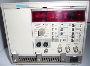 Tektronix Aa5001 Da4084 Tm5003 Programmable Distortion Analyzer System W Manual