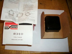 New Borg Warner R 310 Voltage Regulator For Gm Cars Made In The Usa