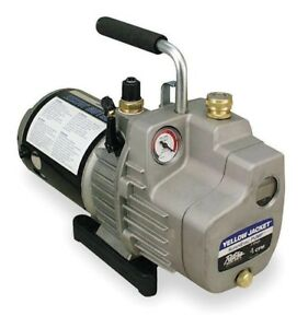 Yellow Jacket 93560 Superevac 6 Cfm Single Phase Vacuum Pump 115v 60 Hz