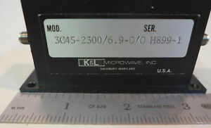 K l 3c45 2300 6 9 0 0 Bandpass Filter