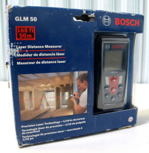 Bosch 165ft 50m Laser Digital Distance Measurer Glm50