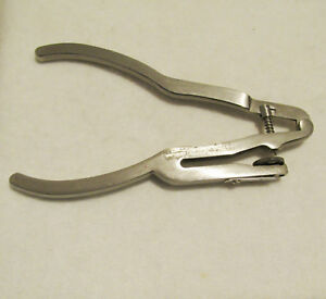 Ivory Rubber Dam Hole Punch Pliers 6 Hole