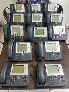 Lot Of 13 Cisco Phone Systems 7940