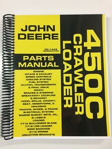 Parts Manual For John Deere 450c Crawler Loader Bulldozer Assembly Manual