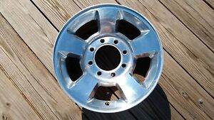 17 Dodge Ram 2500 3500 Wheel Rim Factory 2003 2010 Genuine Oem Polished Alloy