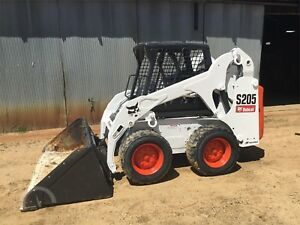 2012 Bobcat S205 Less Than 430 Original Hours