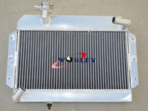 Custom Aluminum Radiator For Mg Mga 1500 1600 1622 De Luxe Mt 1955 1962 56 57 58