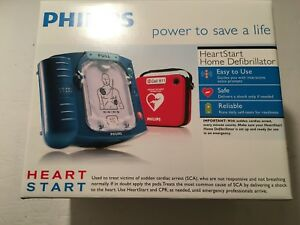 Philips Heartstart Home Aed Defibrillator W Red Case Sealed New M5066a