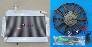 Aluminum Radiator Fan For Rover Mg Mga 1500 1600 1622 De Luxe 1955 1962 56
