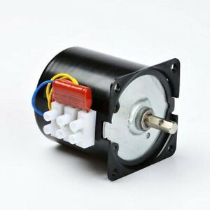 220v High Torque Low Speed Ac Synchronous Motor 2 5 100rpm Low Noise Gear Motor