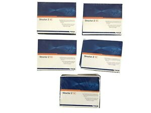 Pack Of 5 Voco Structure 2 Sc Cartridge 75 Gm Shade Dental