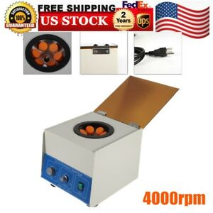 Electric Benchtop Centrifuge Lab Medical Practice 4000rpm 6 50ml Ld 3 Sale
