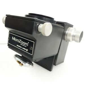 Bausch Lomb Microzoom Microscope With Focusing Block