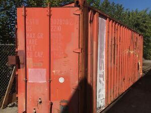 20 Ft Steel Cargo Shipping Storage Container