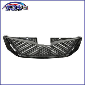 Honeycomb Black Front Bumper Upper Grille Assembly For Toyota Sienna 2011 2017