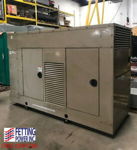 New 100kw Cummins Natural Gas Stationary Generator 100gghh S n A070015476