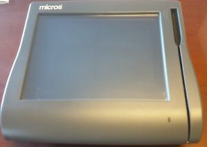 Micros Ws4lx Terminal 400714 001 With Grade A Touch Wireless Card And Stand