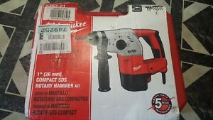 Milwaukee 5363 21 Corded 1 Compact Sds Rotary Hammer Avs