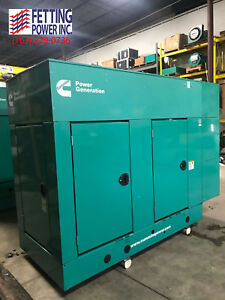 New 35kw Cummins Natural Gas Stationary Generator Ggpa S n A130439583