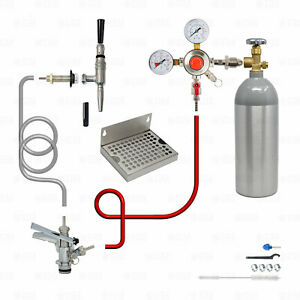 1 Tap Guinness Draft Beer Nitro Kegerator Conversion Kit U System Keg Coupler