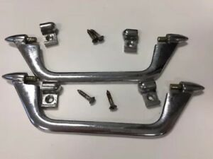 Original Alfa Romeo Giulietta Spider Veloce Interior Door Pull Assemblies Great