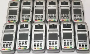 Lot 12 First Data Fd130 Duo Credit Card Machines With Fd 35 Pin Pads