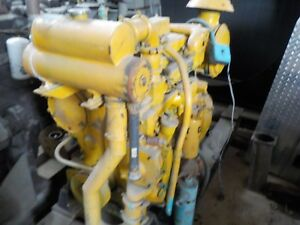 Caterpillar 3304 Diesel For Parts no Injection Pump