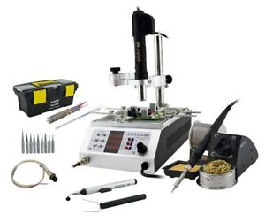 Aoyue 866 All In 1 Smd Hot Air Rework Soldering Station With Pre heater