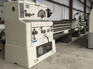 Meuser Co Lathe 24 Swing 2 1 2 Hollow Spindle 13 Between Centers