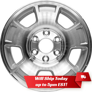 New Set 4 17 Replacement Alloy Wheels For 2007 2013 Chevy Silverado 1500 Tahoe