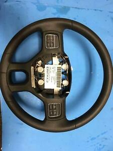 2013 Dodge Ram 1500 Oem Steering Wheel Black W Accessory Buttons No Leather