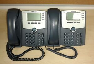 Cisco Spa514g Ip Telephone Used Lot Of 2