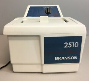 Branson 2510 Bransonic Ultrasonic Cleaner 2510r mt Working Guaranteed